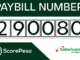 ScorePesa Paybill number